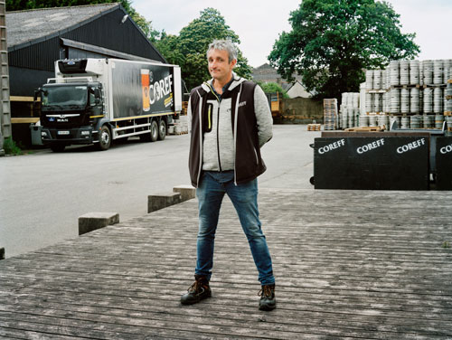 Article - Mathieu Breton, Dirigeant de la brasserie Coreff