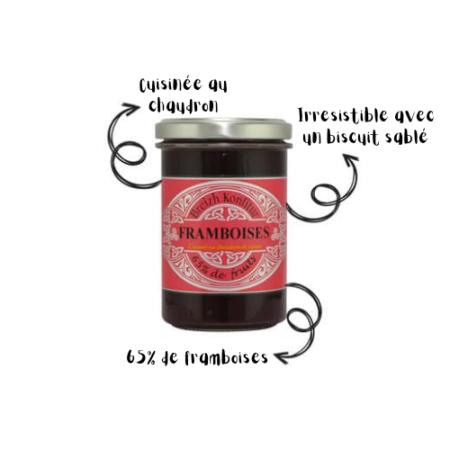 Breizh Konfitur - Confiture de Framboises bio
