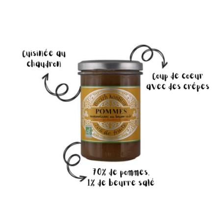 Breizh Konfitur - Confiture de Pommes bio