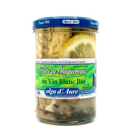 Algo d'Aure - Filets de Maquereaux au vin blanc bio