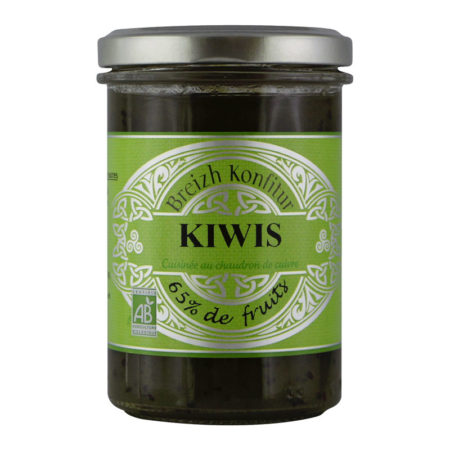 Breizh Konfitur - Confiture de Kiwis bio
