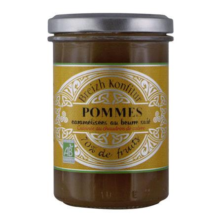 Breizh Konfitur - Confiture de Pommes caramélisées au beurre salé bio