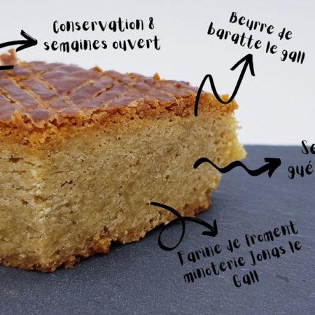Maison Roz Spernez - Gâteau Breton bio 1,7kg