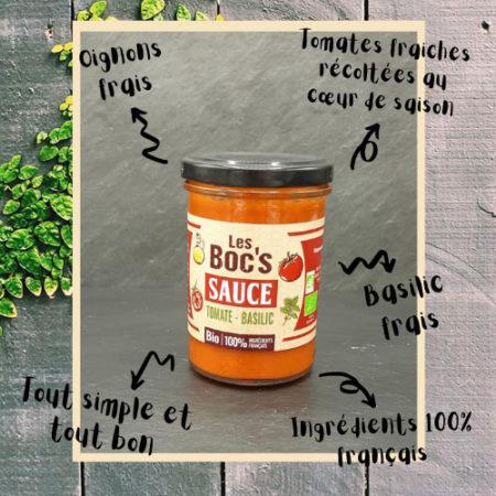 Les Boc's - Coulis de tomate bio