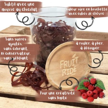 Fruit Ride - Lacets de fruits - Framboise