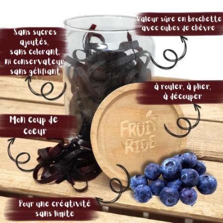 Fruit Ride - Lacets de fruits - Myrtille