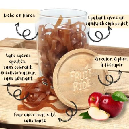 Fruit Ride - Lacets de fruits - Pomme