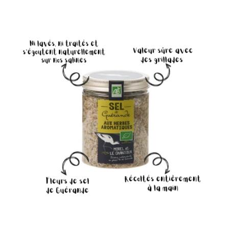 L'Atelier du Sel - Boîte de Sel de Guérande aux herbes aromatiques bio