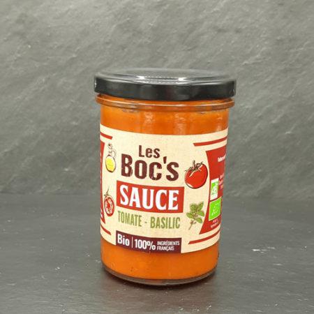 Les Boc's - Sauce tomate-basilic bio