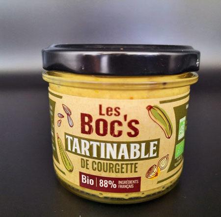 Les Boc's - Tartinable de courgette bio