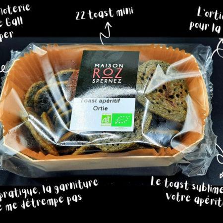 Maison Roz Spernez - Toast apéritif Ortie