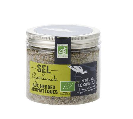 L'Atelier du Sel - Sel de Guérande aux herbes aromatiques bio - Boîte de 150g