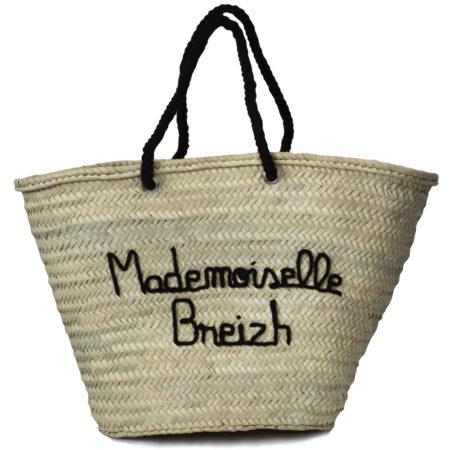 Panier brodé Mademoiselle Breizh