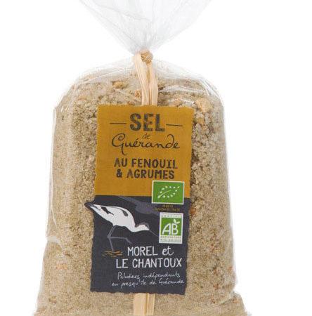 L'Atelier du Sel - Sel de Guérande au Fenouil & Agrumes bio - Sachet de 250g