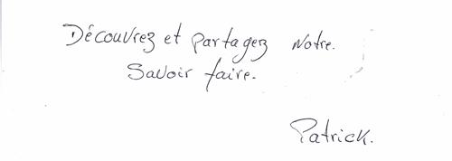 L'Atelier des Korrigans - Citation et Signature