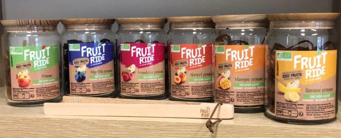 bocaux de la gamme Fruit Ride