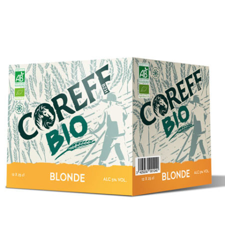 Coreff - Pack Bières Bonde bio 12x25cl