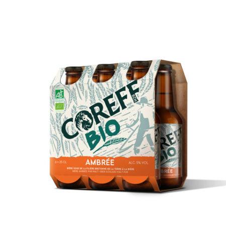 Coreff - Pack Bières Ambrée bio 6x25cl