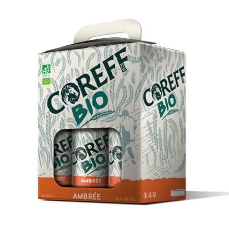 Coreff - Pack Bières Ambrée bio 6x33cl