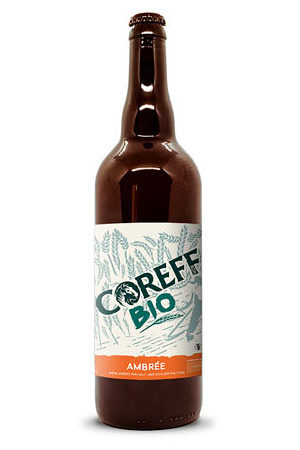 Coreff - Bières Ambrée bio 75cl