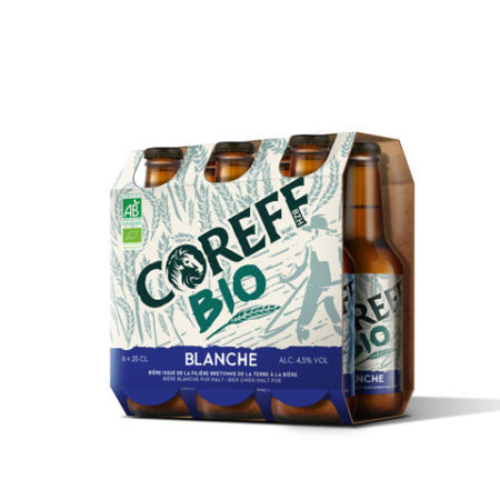 Coreff - Pack Bières Blanche bio 6x25cl