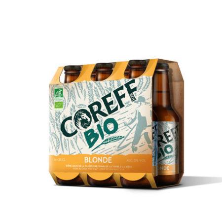 Coreff - Pack Bières Blonde bio 6x25cl