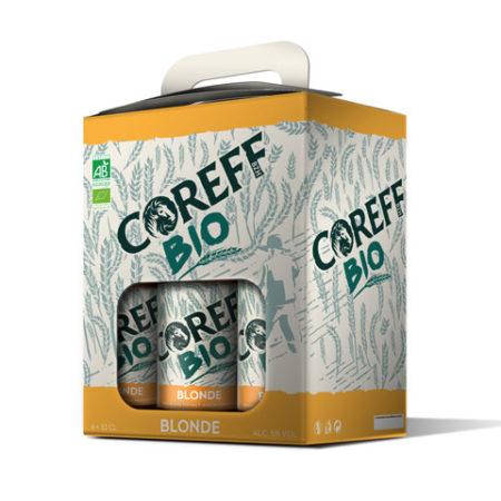 Coreff - Pack Bières Blonde bio 6x33cl