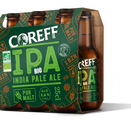 Coreff - Pack Bières IPA bio 6x25cl