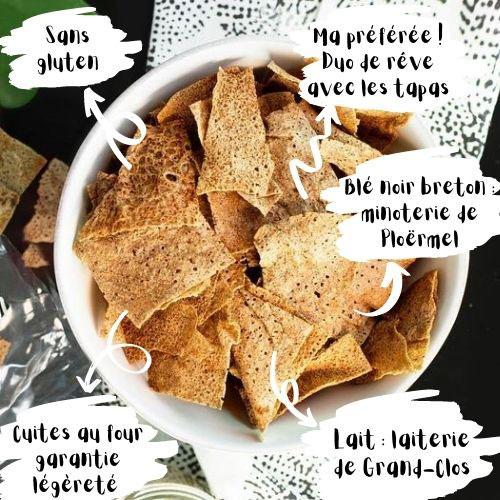 Mademoiselle Breizh - Chips de Sarrasin bio aux herbes de Provence