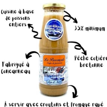 Algo d'Aure - La Provençale Soupe de poissons
