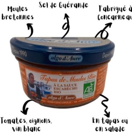 Algo d'Aure - Tapas de Moules bio