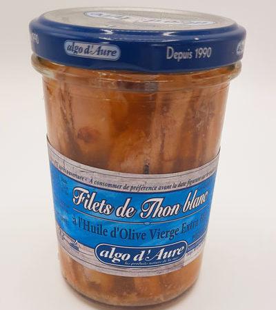 Filets de thon blanc à l'huile d'olive
