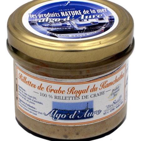 Algo d'Aure - Rillettes de Crabe Royal du Kamchatka