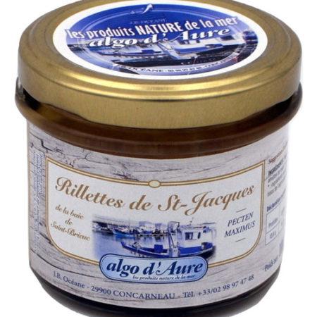Algo d'Aure - Rillettes de Saint-Jacques