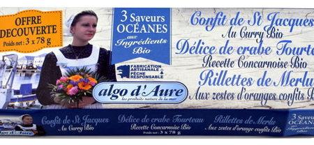 Algo d'Aure - Trio pack 3 saveurs océanes aux ingrédients bio