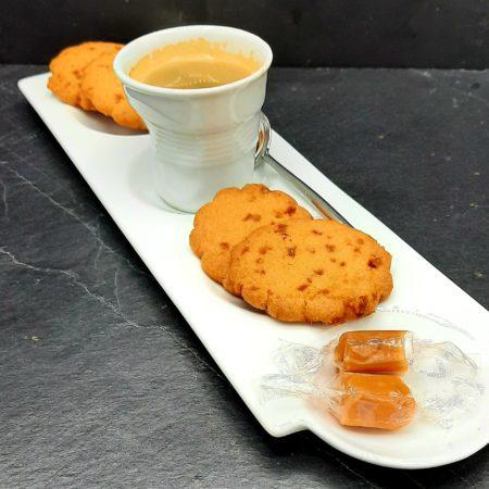 biscuit froment aux pépites de caramel