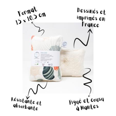 Marcia Création - Gri gri Eponge lavable Taille L