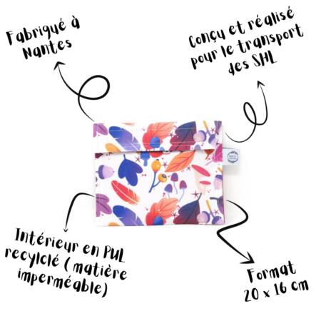 Marcia Créations - Gri gri Pochette de rangement imperméable - Taille M