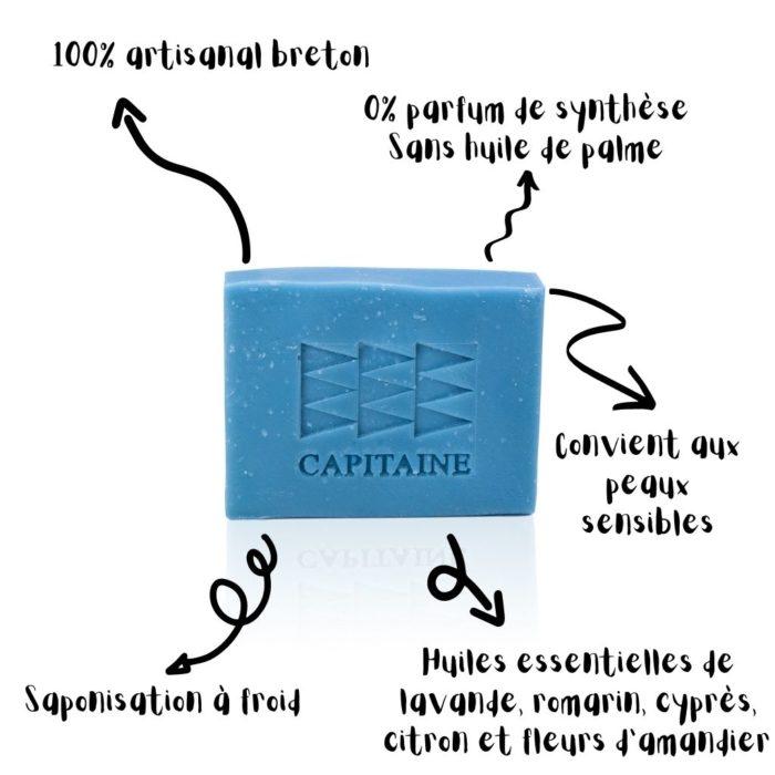 savon et shampoing bio chemin de garrigues capitaine cosmétiques