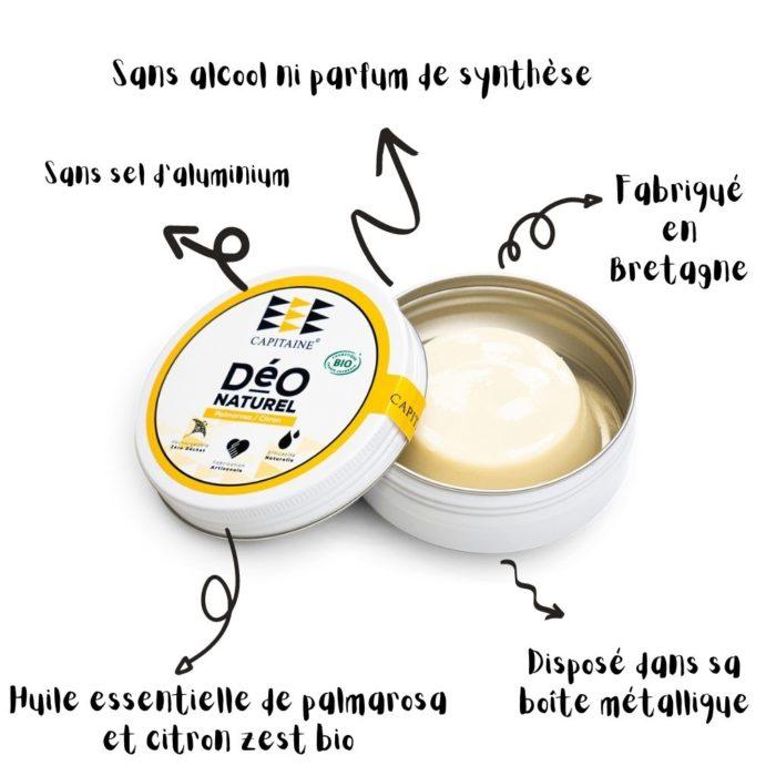 deodorant solide palmarosa capitaine cosmetiques