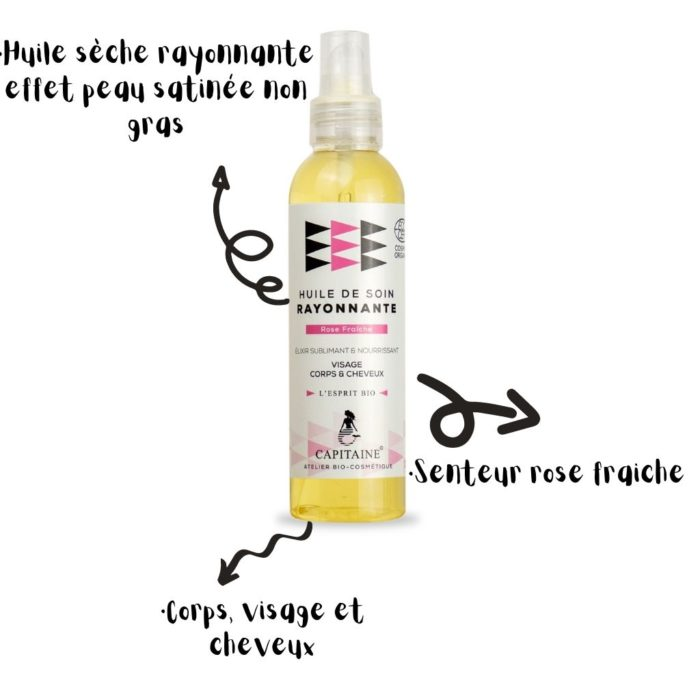 huile rose fraiche