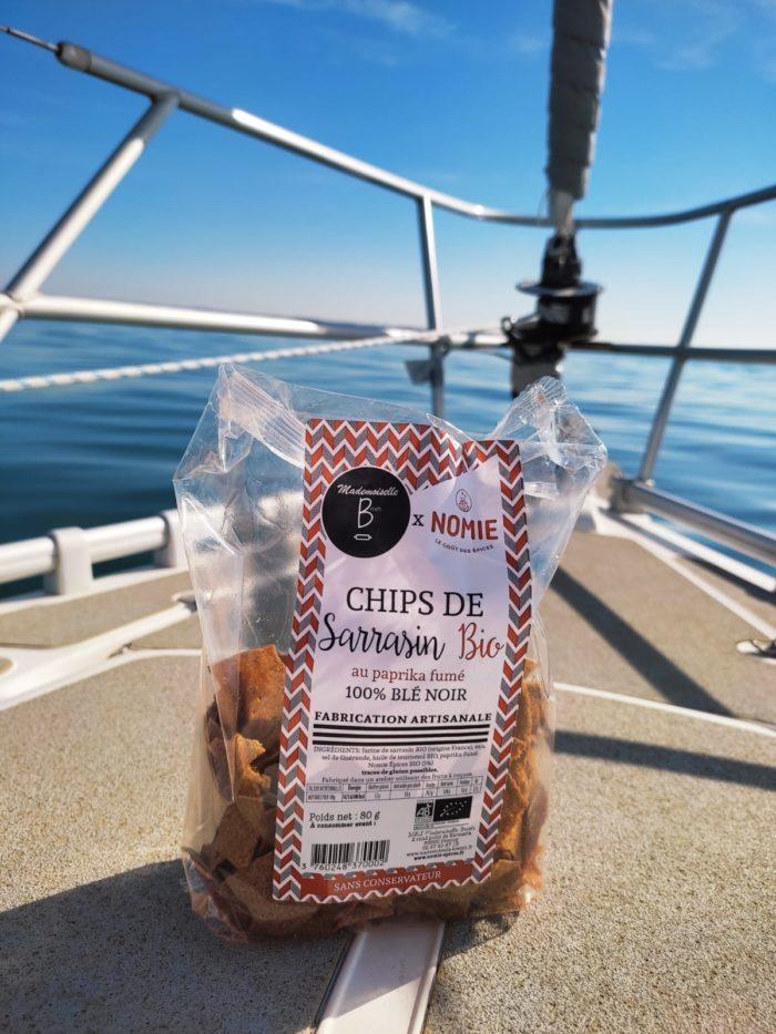 chips sarrasin sur bateau